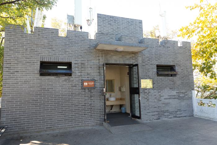 Toilets at the Great Wall of China