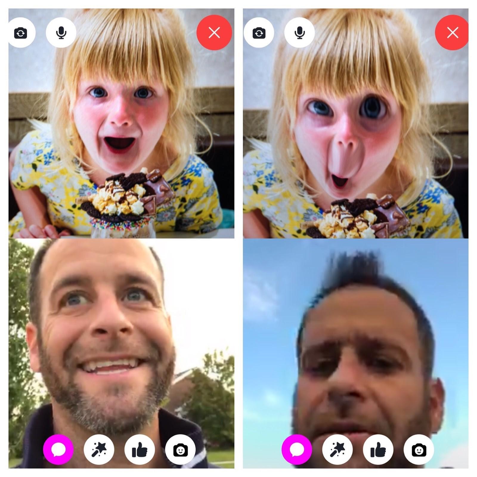 Using FB messenger kids app