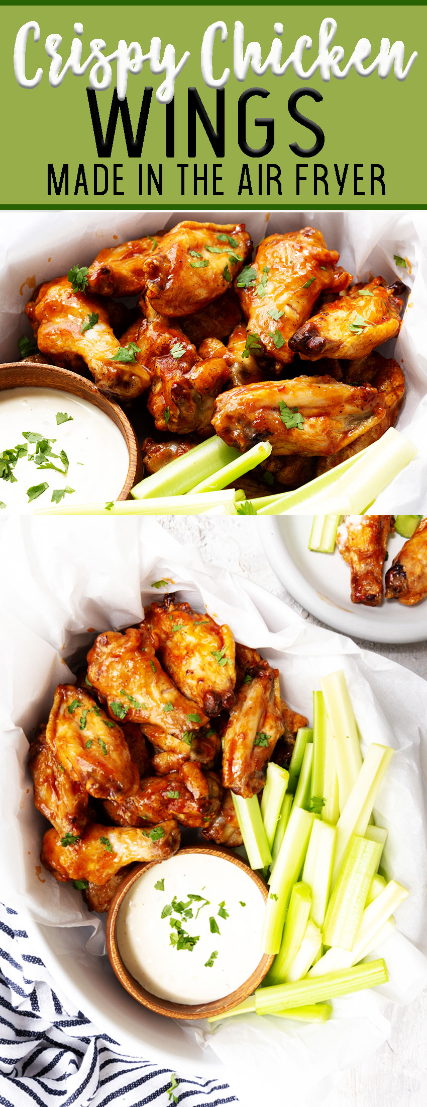 How to make crispy chicken wings in the air fryer