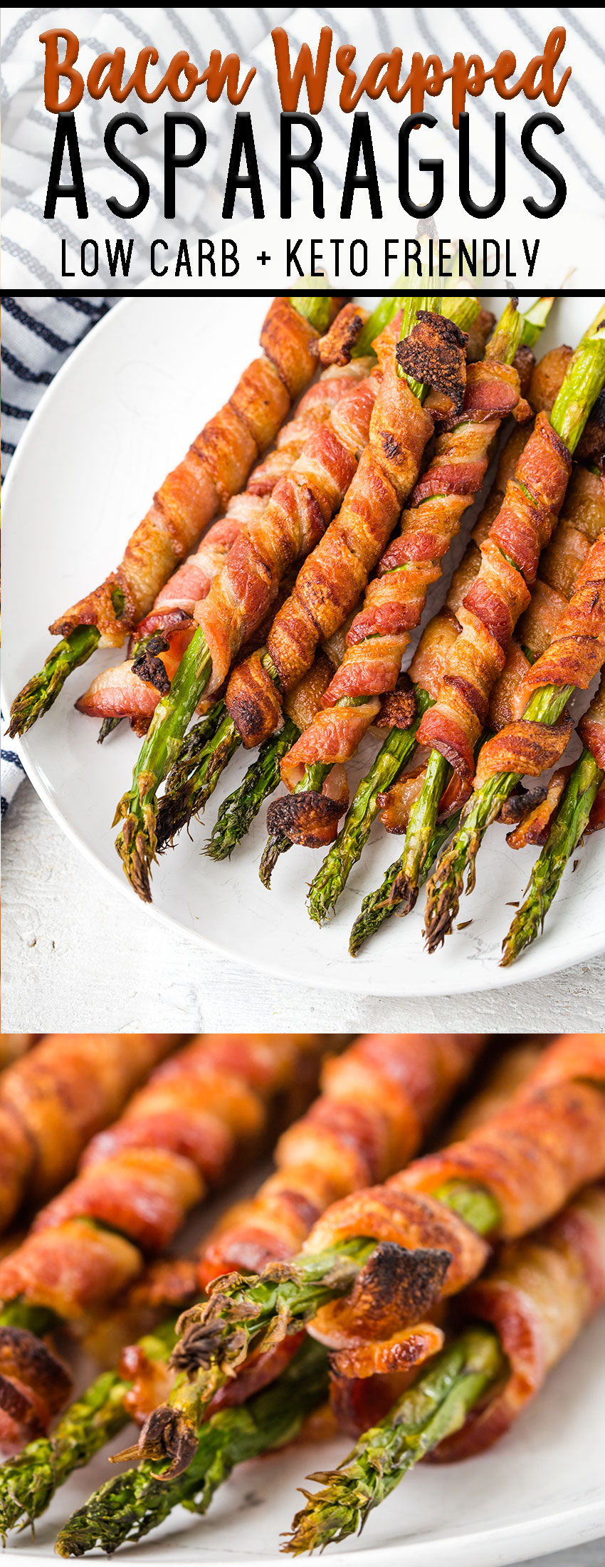 How to make bacon wrapped asparagus perfect for the keto diet