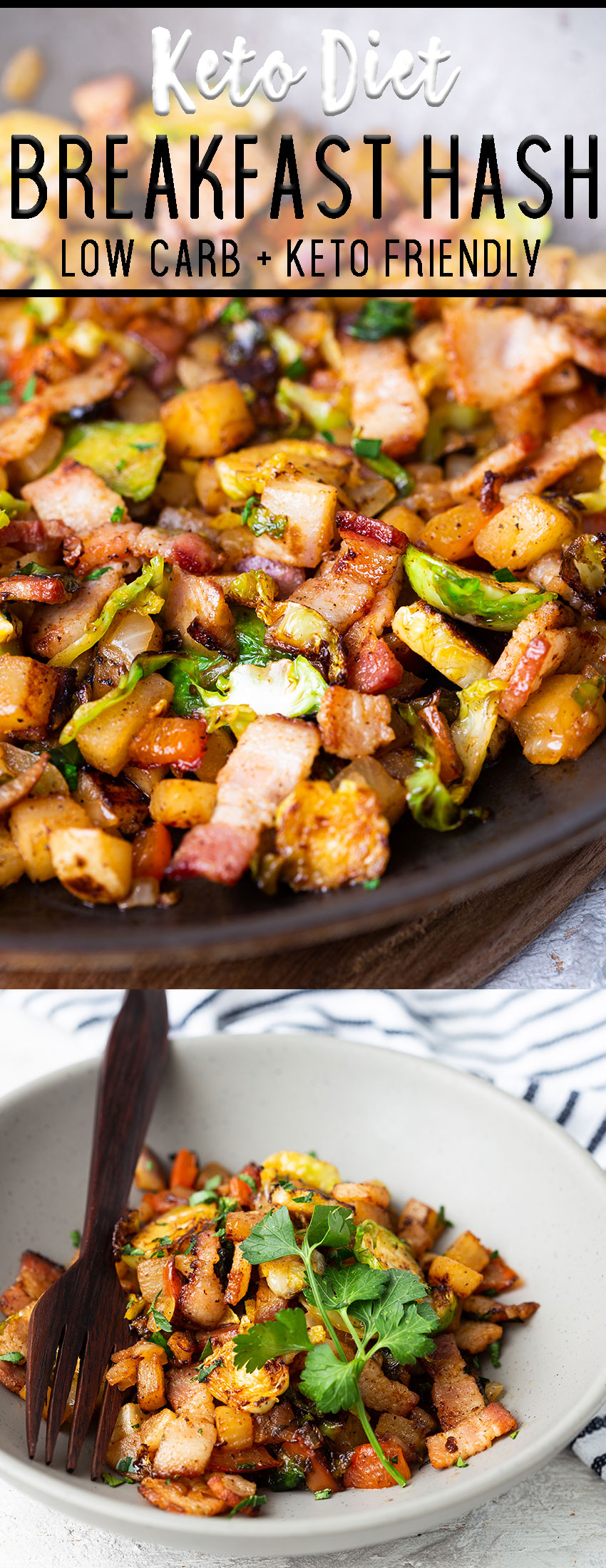 Keto diet breakfast hash pinterest pin