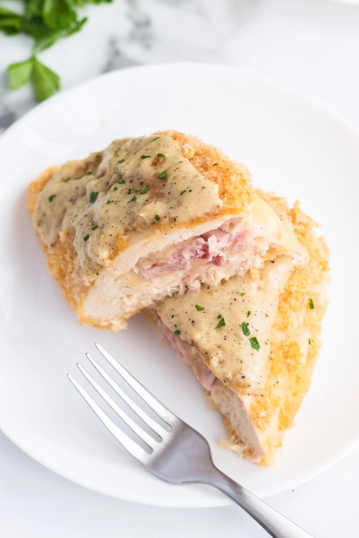 Chicken Cordon Bleu Easy Peasy Meals