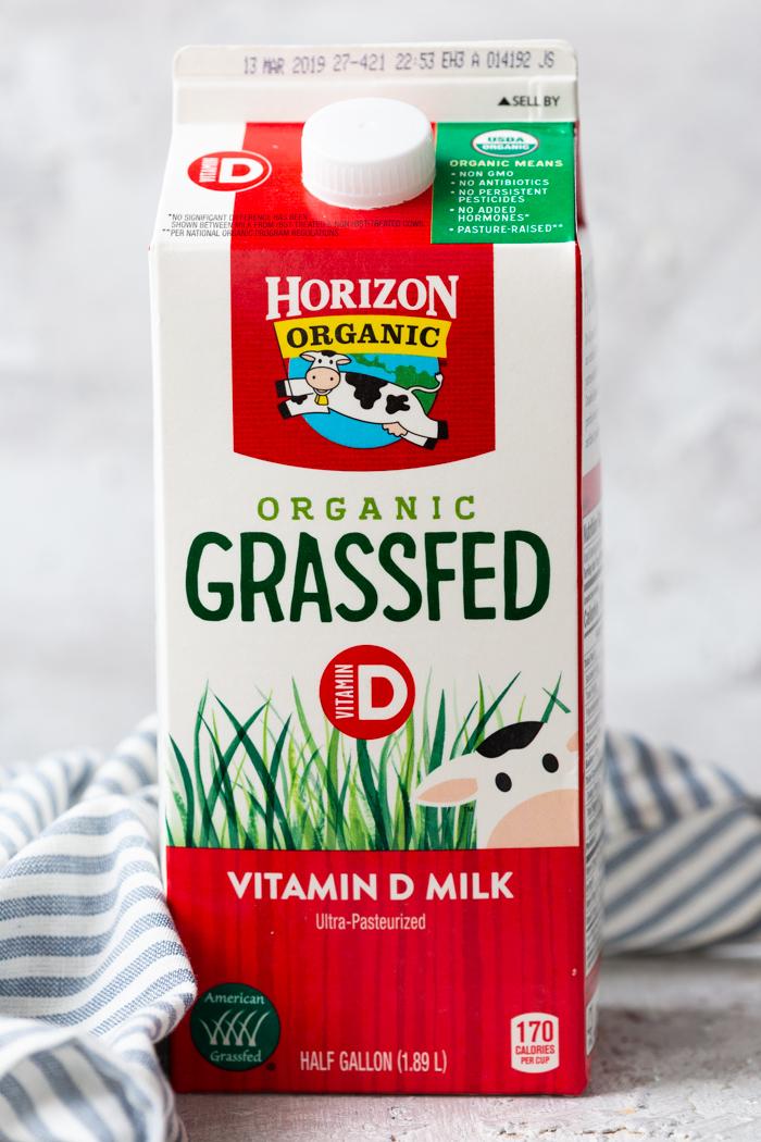 Horizon organic grassfed milk