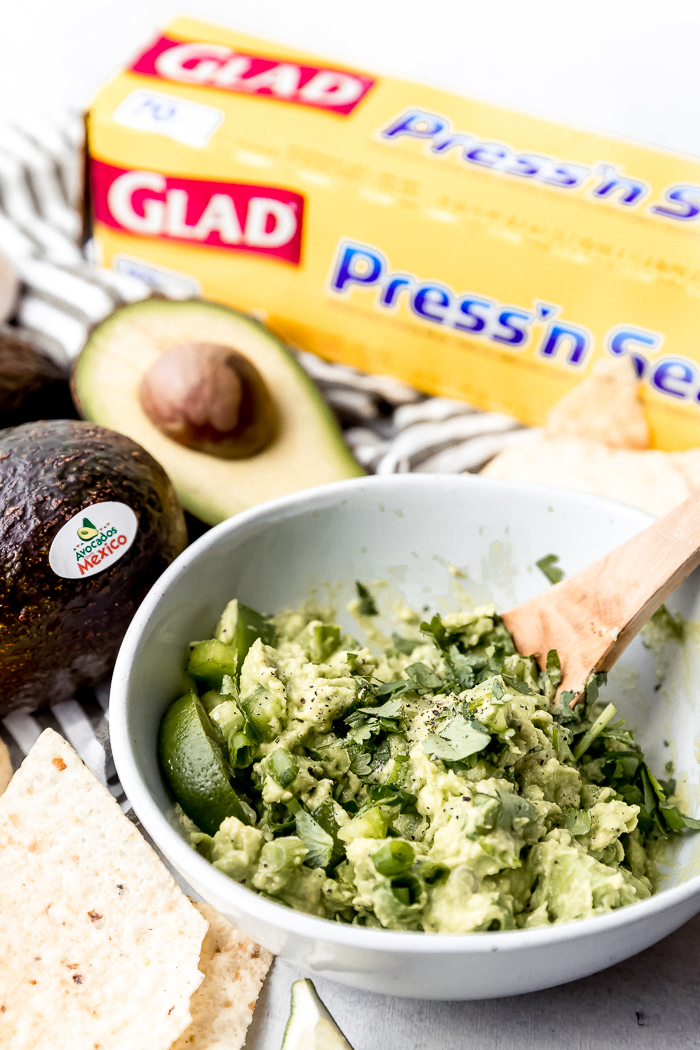 A fun bowl of guacamole