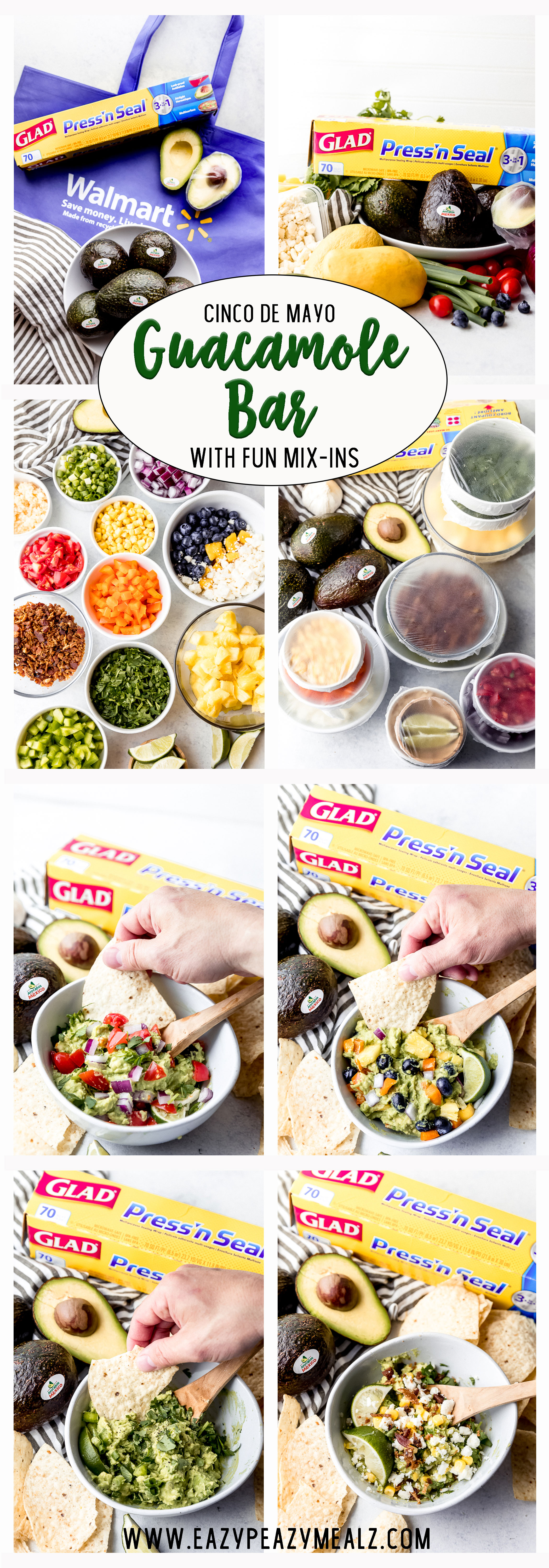 Everything you need to know to make the perfect guacamole bar with all the fun mix-ins