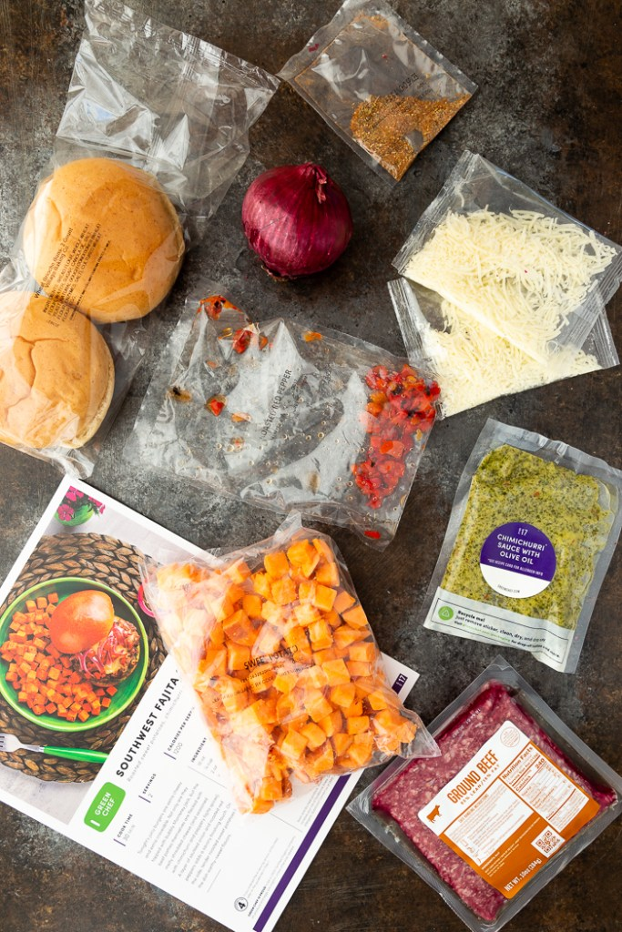 What you need for Southwest Fajita Cheeseburgers