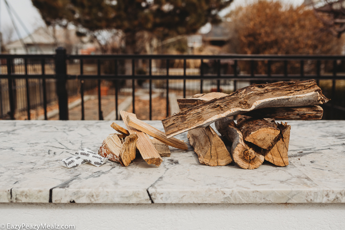 The wood you need to operate a wood fired oven