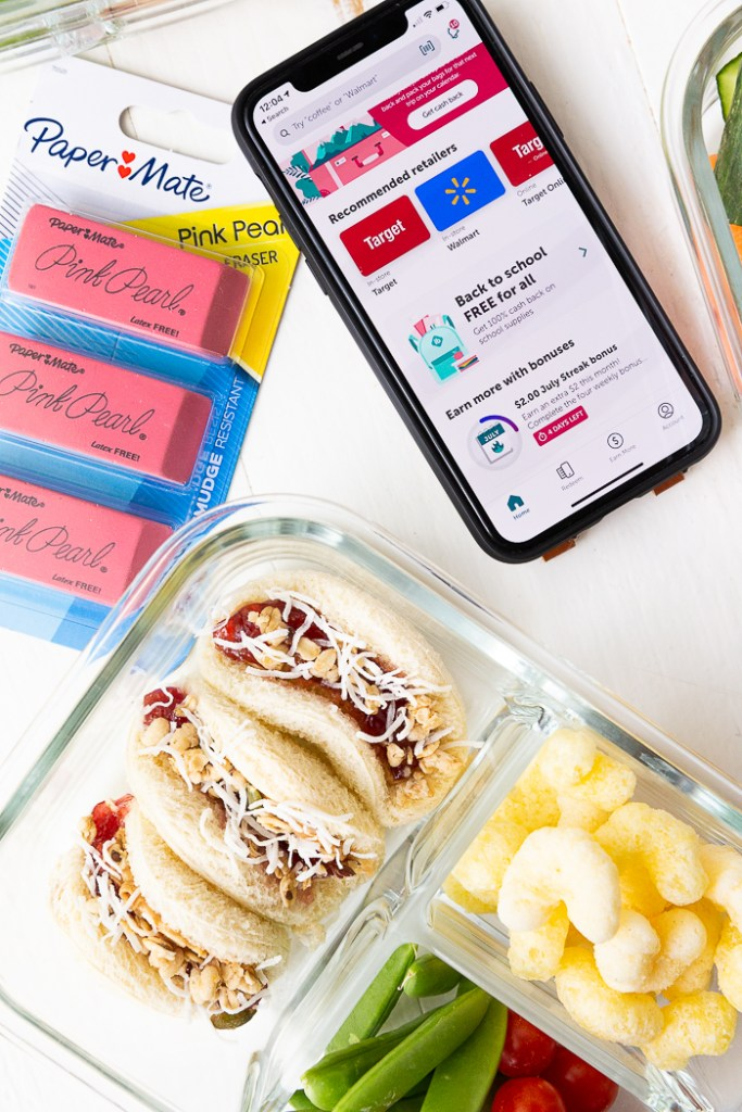 Peanut butter and jelly sandwich ideas for back to school lunchboxes and ibotta