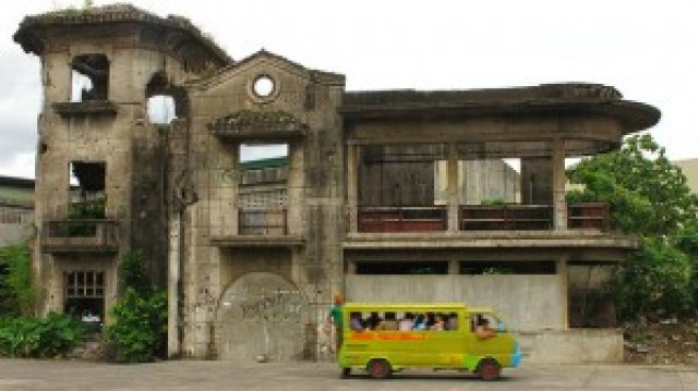 Ruins of Dominador Tan's House