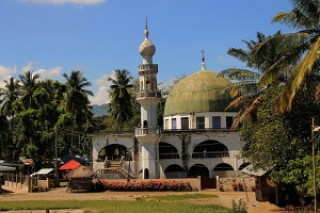 Mosque in Ampatuan town