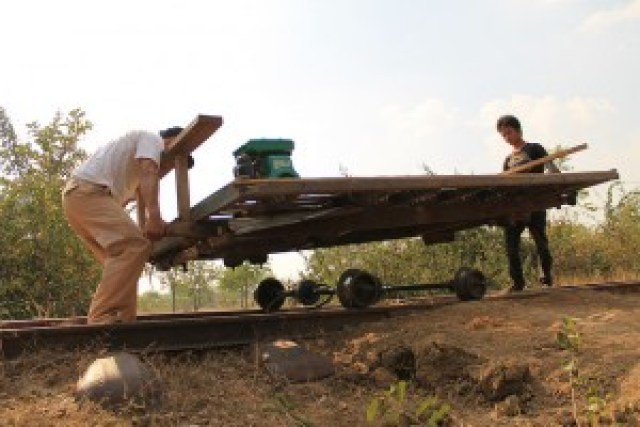 Dismantling A Bamboo Train