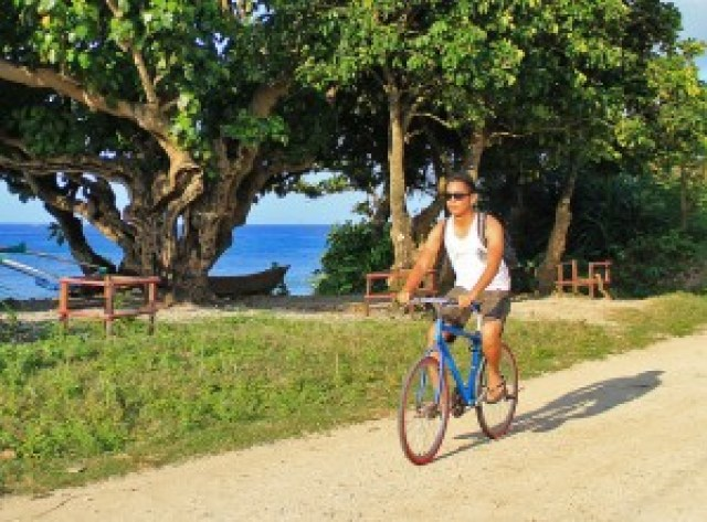 Biking in Calayan Island
