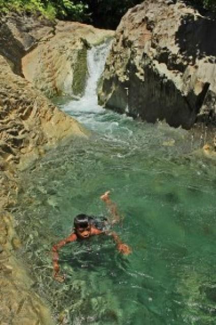 Kinaraha Cascades, Caibiran