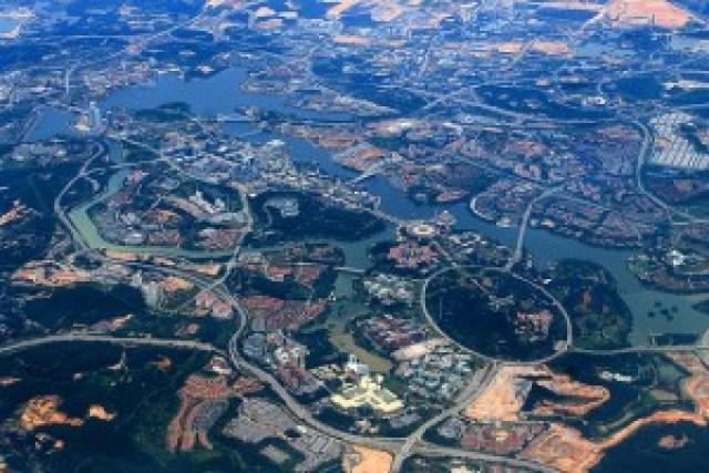 Aerial View of Putrajaya, Malaysia