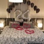 סידור בלונים ליום הולדת 24