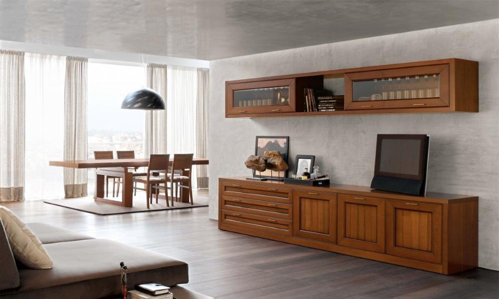 Mobili soggiorno classici componibili  Trattamento marmo