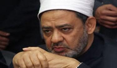 صورة شيخ الأزهر يهنئ مرسي بفوزه رئيساً للجمهورية