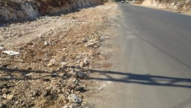 صورة طريق الجية – برجا إلى التوسيع