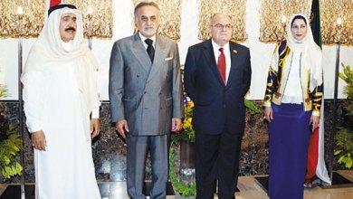 صورة حسّان حوحو احتفى بالسّفير اللبنانيّ خضر حلوي