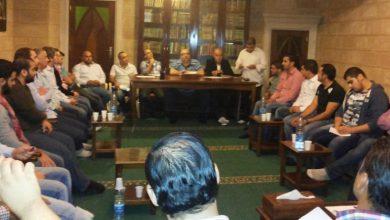 صورة بلدية برجا الشوف وجهاً لوجه مع ثلة من الشباب البرجاويّ