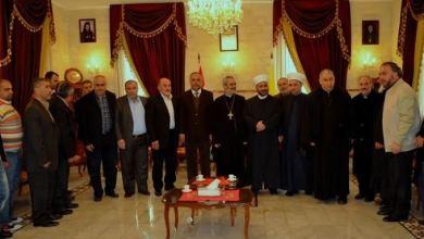 صورة الجماعة الإسلامية تجول على أديرة الإقليم وتقدم التهاني بعيد الميلاد