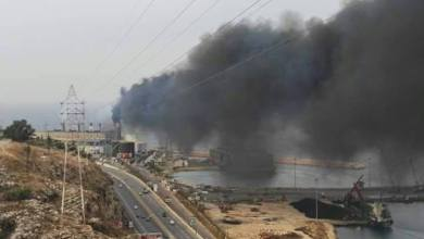 صورة كارثة التلوث تستمر وما من تحرك !!!