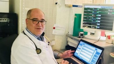 صورة د. سادن سعد رئيس قسم القلب والإنعاش في شاتوبريان
