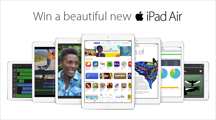 Win an iPad Air!