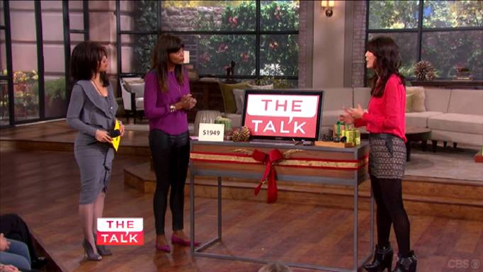 Check Out our Cyber Monday Feature on CBS' The Talk!
