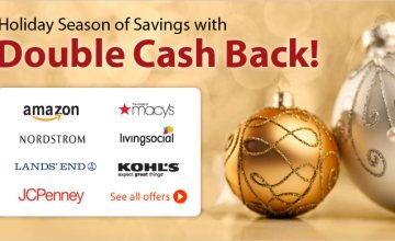 Finish Up Your List with Double Cash Back!