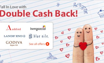 Rose, Chocolates, and Double Cash Back!