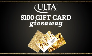 Win $100 Gift Card to ULTA
