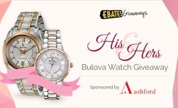 His & Hers Bulova Watch Giveaway