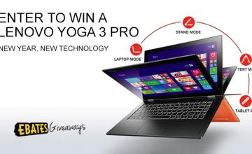 Lenovo Yoga 3 Pro Giveaway