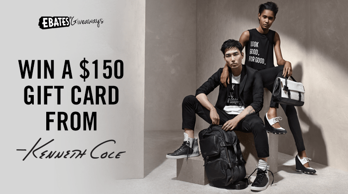 $150 Kenneth Cole Gift Card Giveaway