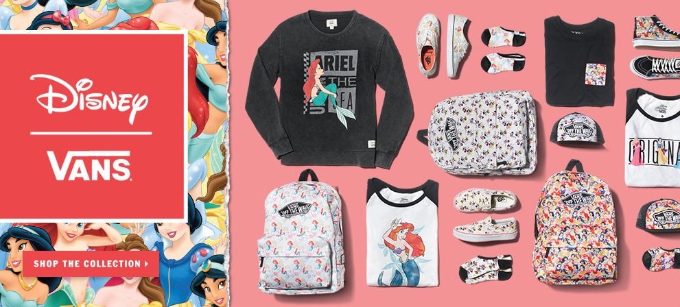 Happily Ever After: Vans Disney Princess Collection
