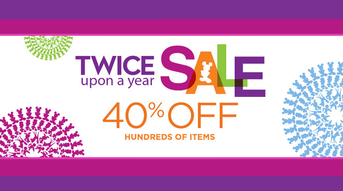 Disney's Twice Upon a Year Sale
