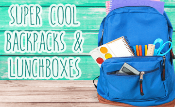10 Backpacks and Lunchboxes Your Kid Would Love to Rock