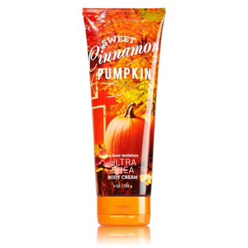 Sweet Cinnamon Pumpkin Body Cream | $13 (Bath & Body Works)