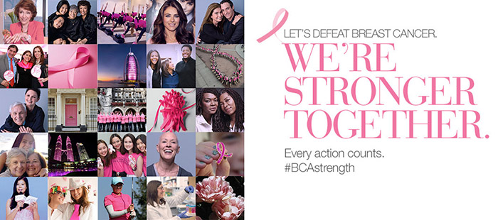 Shop Estee Lauder for Breast Cancer Awareness