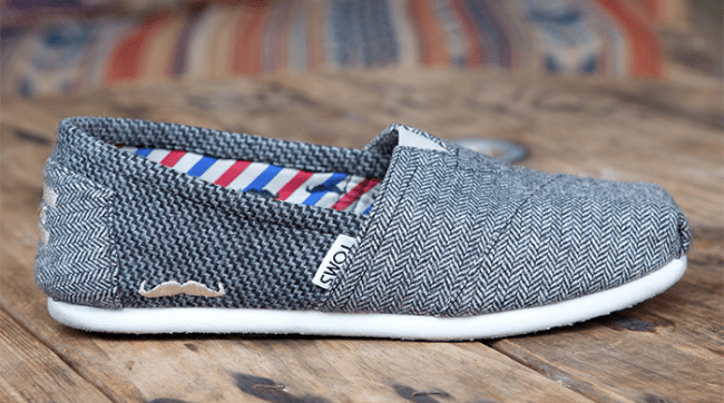 Shop TOMS to support Movember