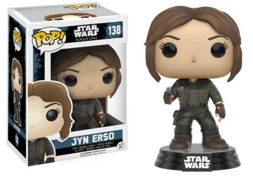 Funko Pop! Star Wars Rogue One - Jyn Erso
