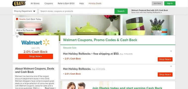 Walmart Deals & Cash Back