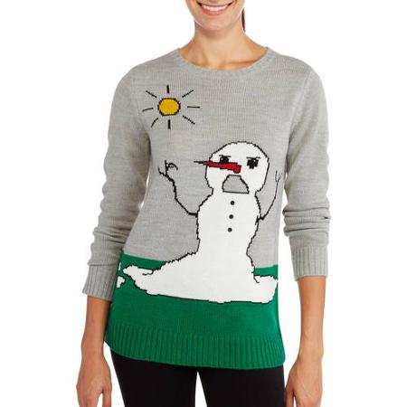 nyc alliance snowman pullover christmas sweater - Jcpenney Christmas Sweaters