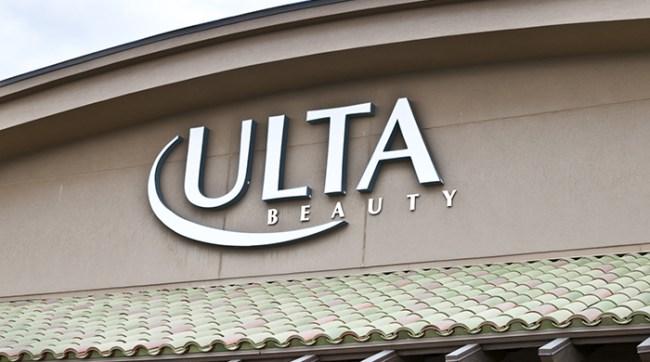 ulta beauty storefront