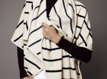 Mariner Stripe Cape