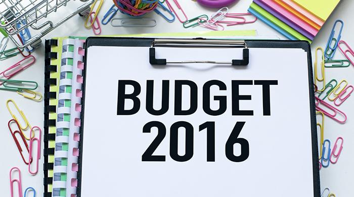 2016 Budget Planning