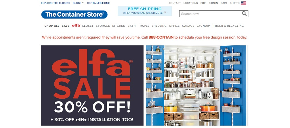 The Container Store Home Organization
