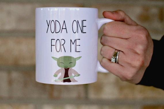 Yoda One for Me Mug