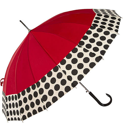 ShedRain 16 Panel Spotted Umbrella
